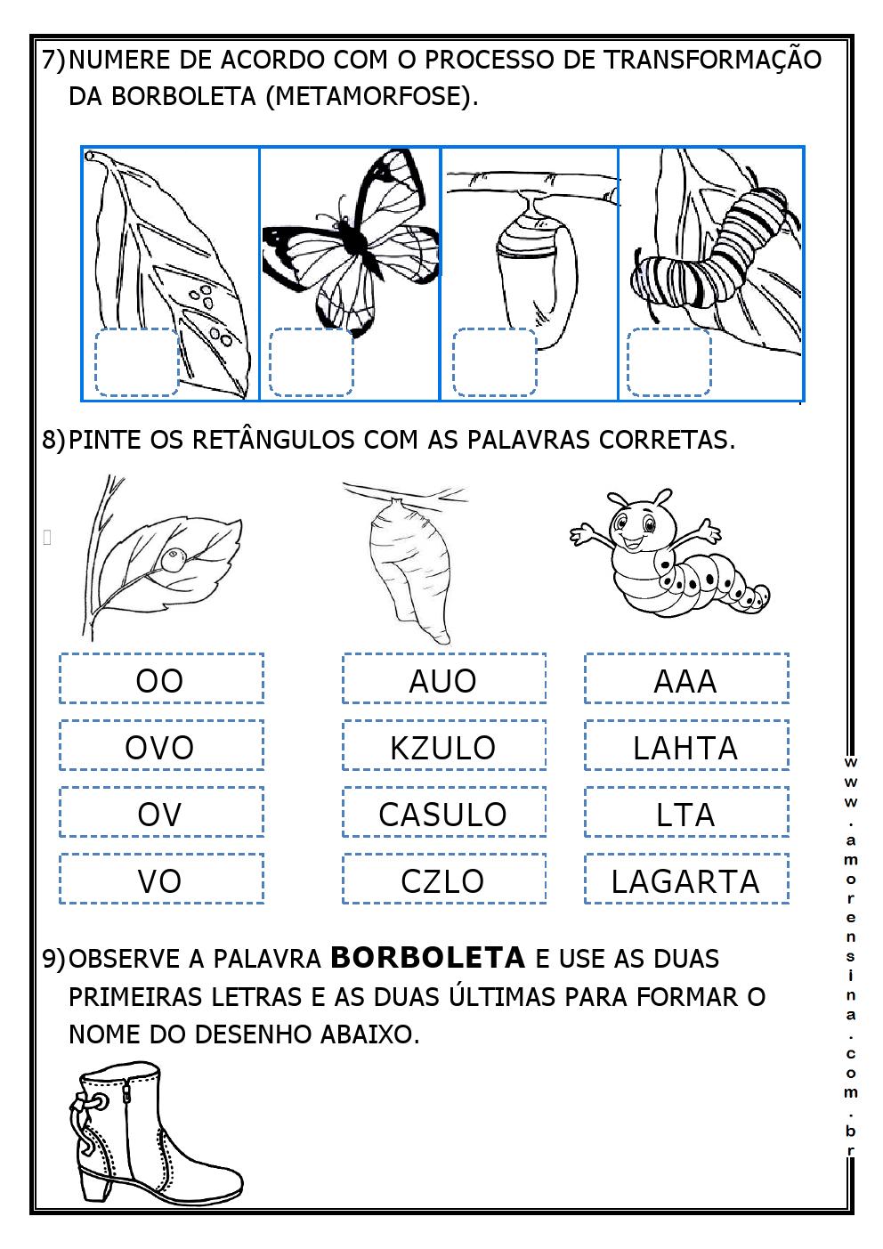 Well-known LAGARLETA - ( DE LAGARTA A BORBOLETA) - INTERDISCIPLINAR - 1º ANO  YF01