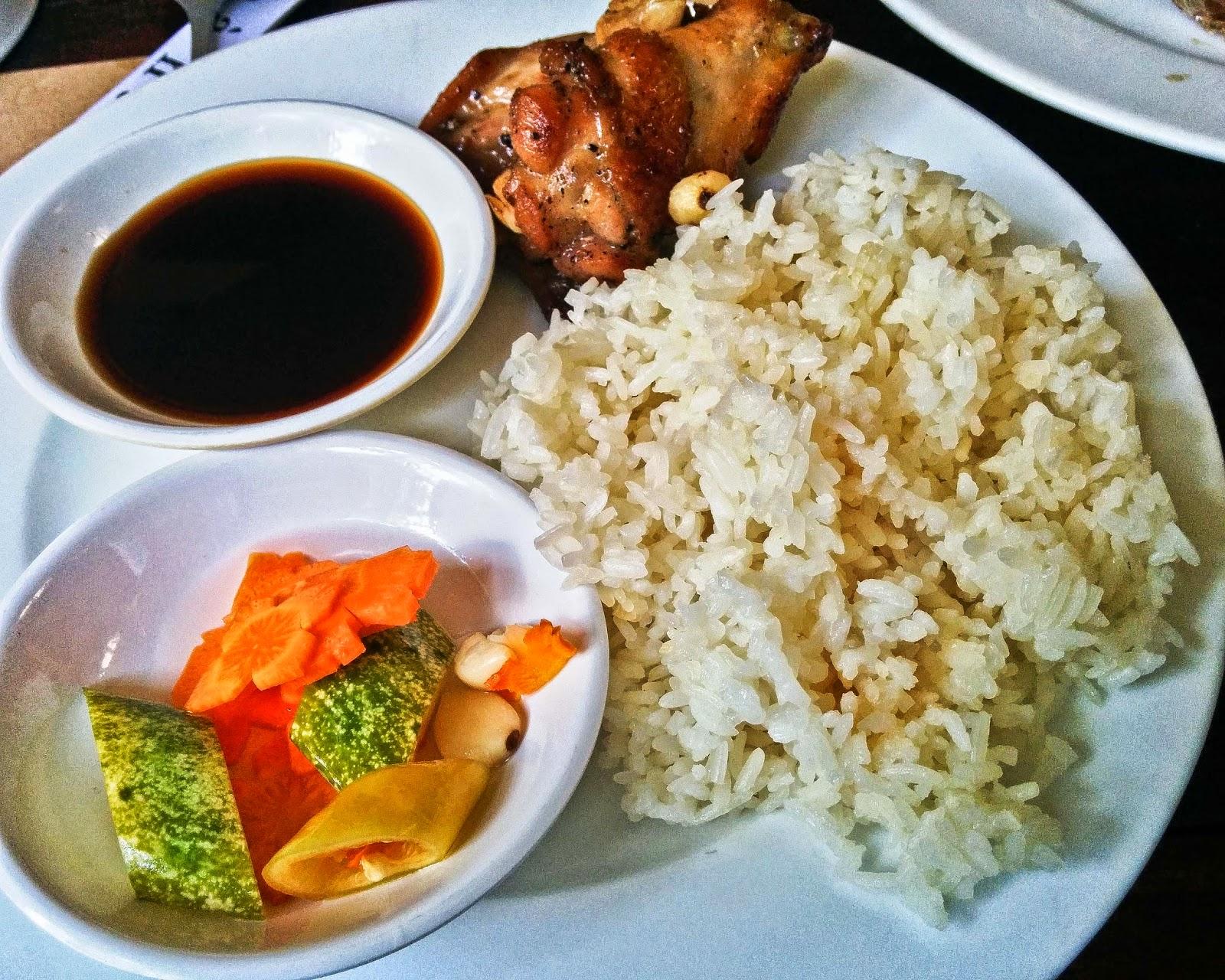 Sticky Rice Fish Sauce