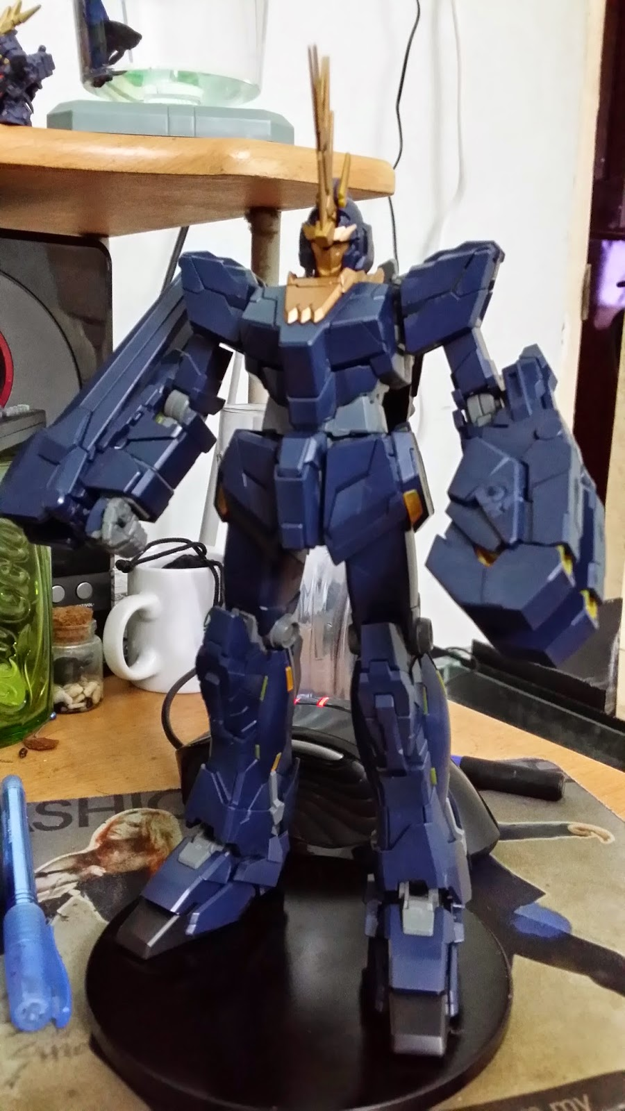 Gear Gundams Mg 1 100 Rx 0 Unicorn Gundam 02 Banshee