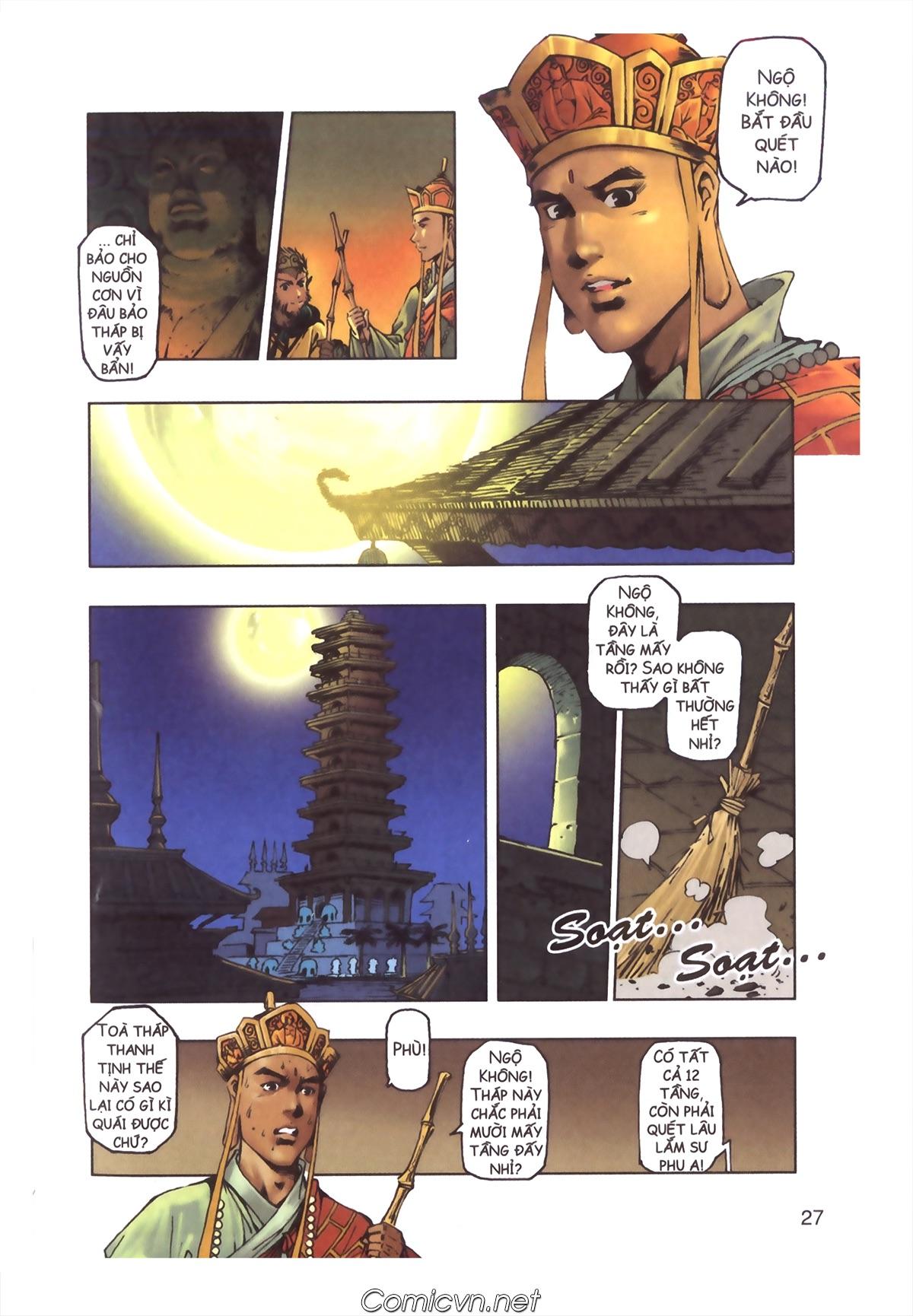 Tây Du Ký màu - Chapter 110 - Pic 25