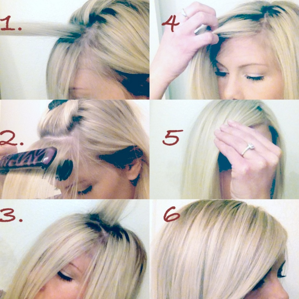 Stupendous Megan Mikita How To The Perfect Side Swept Bang Hairstyle Inspiration Daily Dogsangcom