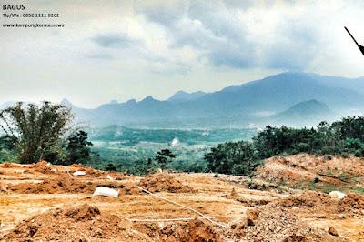Jual Tanah Di Bogor pinggir jalan 6 meter