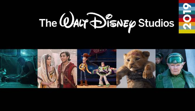 Great Movies Coming in 2019 from Walt Disney Studios Motion Pictures!