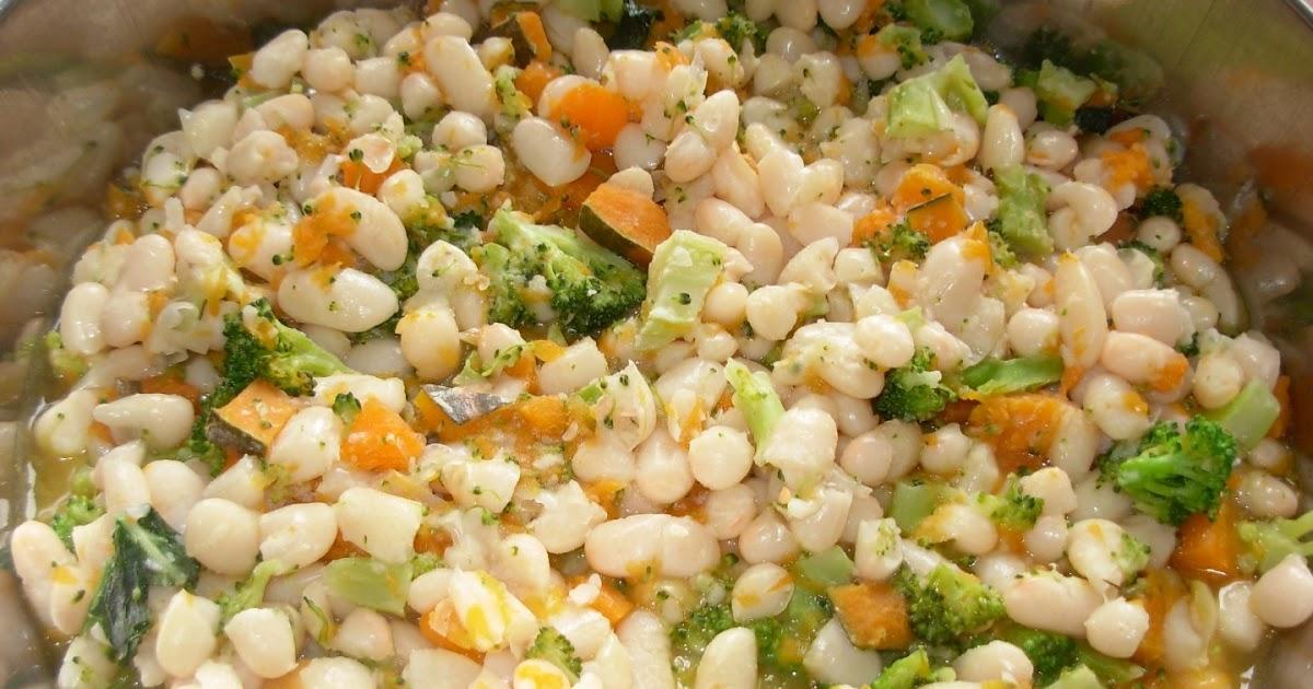 Cannellini in brodo di verdure