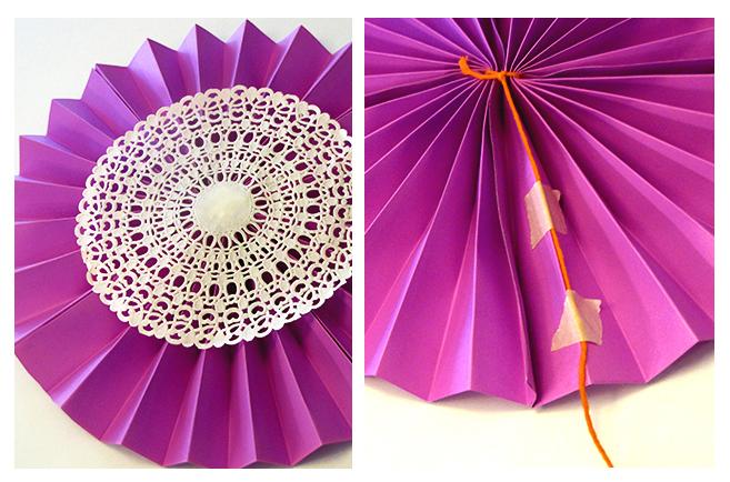 Decoracion con cartulinas for Decoracion con papel barrilete
