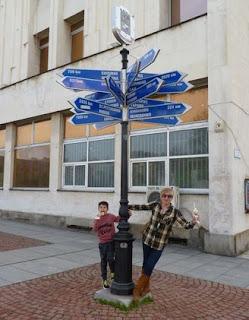 Una de las señales más curiosas que vimos en Plovdiv.
