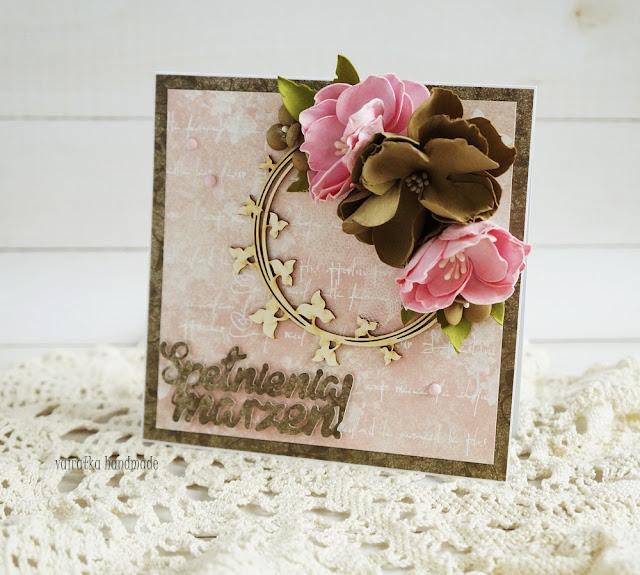 Urodzinowa z kwiatami/DT CraftPassion