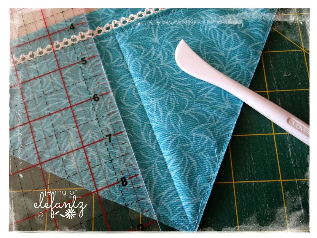 Jenny of ELEFANTZ: TUTORIAL - the sweetly simple sewing caddy!