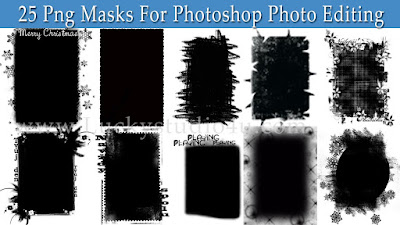 25 Png Masks For Photoshop Photo Editing