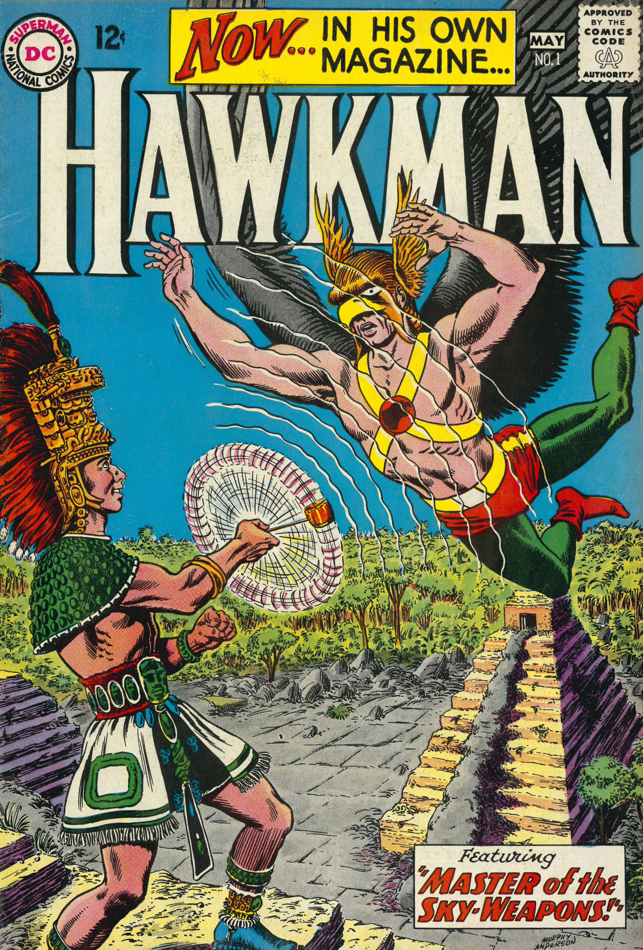 Hawkman (1964) issue 1 - Page 1