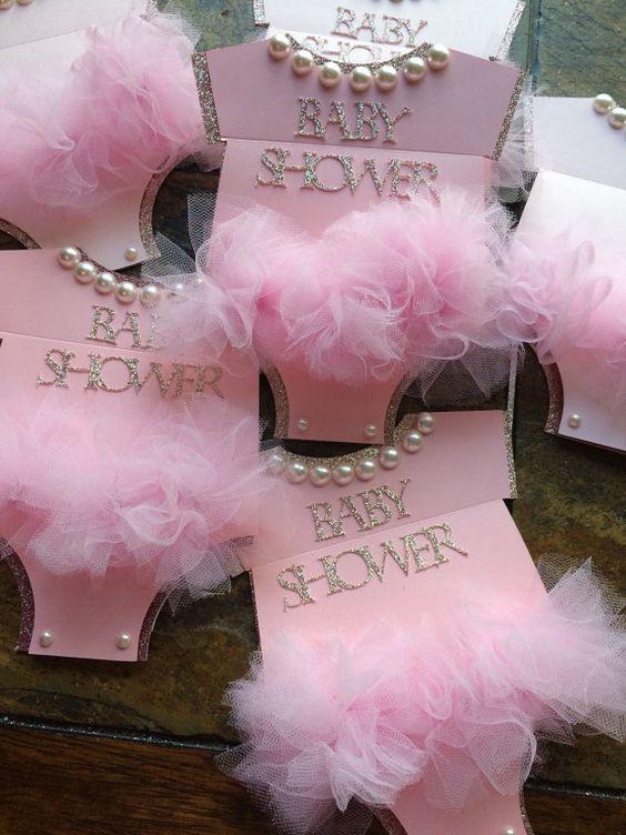 Tematica De Baby Shower Nina.Pinterestita Creadora Invitaciones Babyshower De Nina