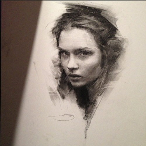 14-Casey-Baugh-Portrait-Drawings-of-Charcoal-Studies-www-designstack-co
