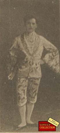 Charles Knie en costume japonisant