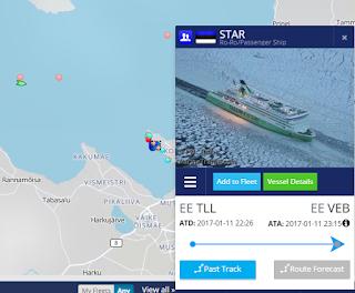 Star telakalla, Tallink Star telakointi