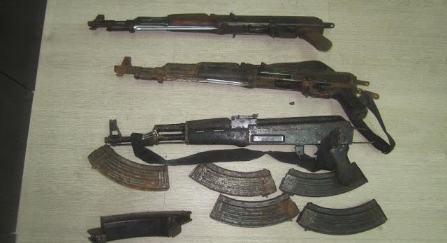 Ήπειρος: Χειροβομβίδες, Εκρηκτικές Ύλες Και Πυρομαχικά, Στα Ελληνοαλβανικά Σύνορα.