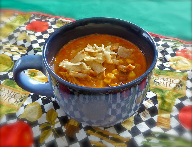 crock pot recipes, slow cooker chicken enchilada soup, mexican recipe, new twist on enchillada flavors