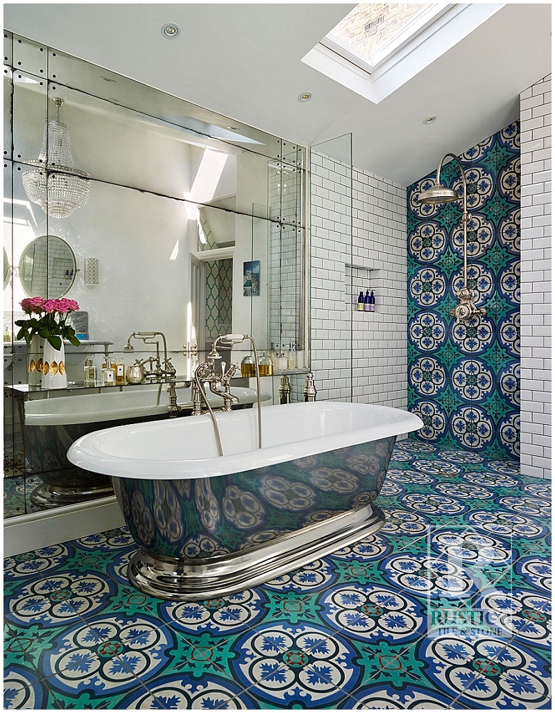 How To Pick The Best Mexican/Spanish Tile For Decorative Flooring