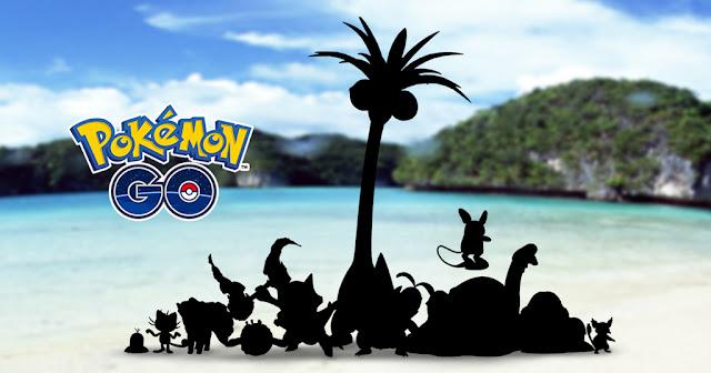 Pokémon GO anuncia la inclusión de las formas alola de la primera generación