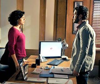 Miriam (Leticia Persiles) e Rodrigo (Gabriel Braga Nunes) eram almas gêmas em 'Amor, Eterno Amor'