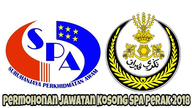 Permohonan Jawatan Kosong SPA Perak 2021