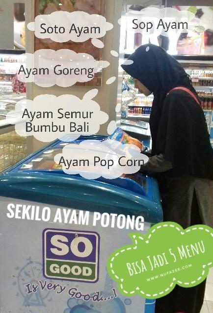 Sekilo SO GOOD Ayam Potong Paha dan Dada Bisa untuk 5 Resep Ini Loh!