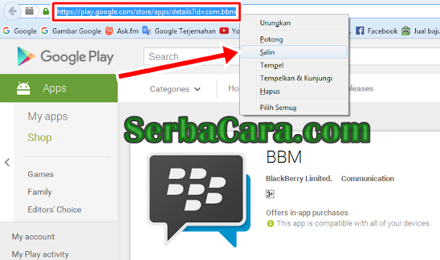 Cara Download File APK di Google Play Store Lewat PC