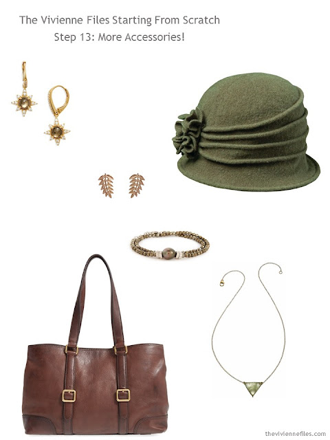 How to Build a Capsule Wardrobe: Starting From Scratch, Stage 4 - accessories