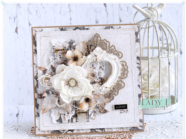 Vintage Love Cardmaking Video Tutorial & Paper Flowers