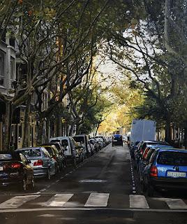 paisajes-de-ciudades-realismo-pintado vistas-urbanas-pintadas