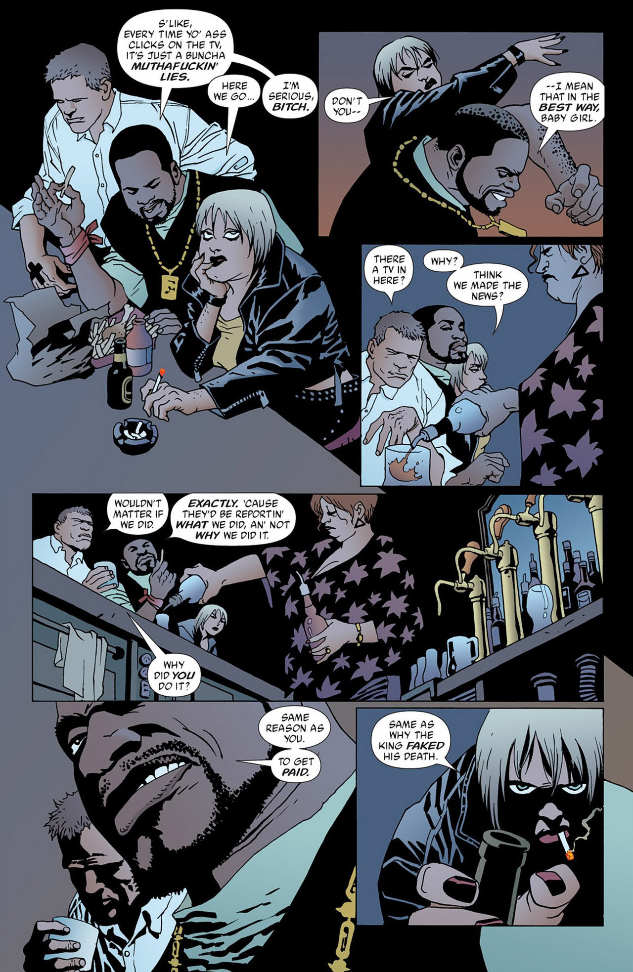 Read online 100 Bullets comic -  Issue #50 - 5
