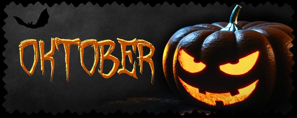 Weltenwanderer: Der Oktober stand ganz im Zeichen von Halloween