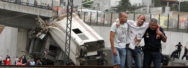 el ferrocarril accidente tren santiago