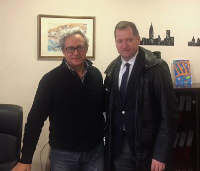 Συνάντηση με τον Διοικητή της 5ης ΥΠΕ είχε ο πρόεδρος του ΣΘΕΒ