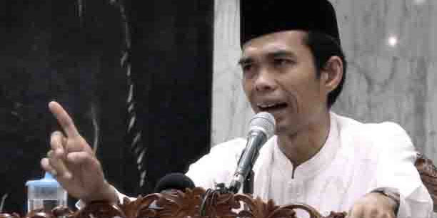 Video Ceramah Dasyat Ustaz Somad Tentang LGBT Sama dengan Monyet Viral!