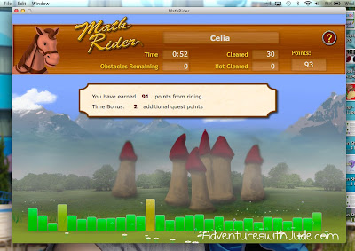Celia - Math Rider screen shot
