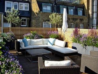 Idea de balcón moderno