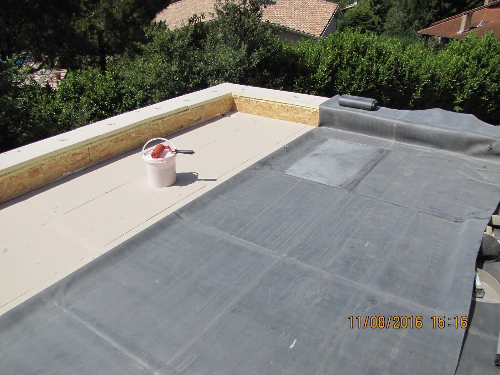 une maison passive en occitanie etanch it du toit du sas. Black Bedroom Furniture Sets. Home Design Ideas