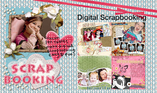 Digital picture slide show or scrapbook