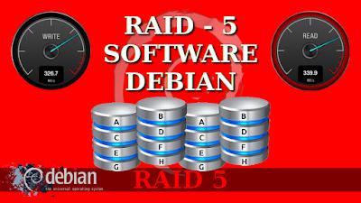 Instalar Debian con RAID5 por software