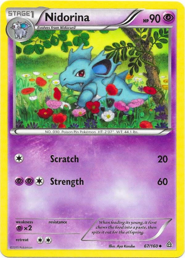 Nidorina -- Primal Clash Pokemon Card Review ...