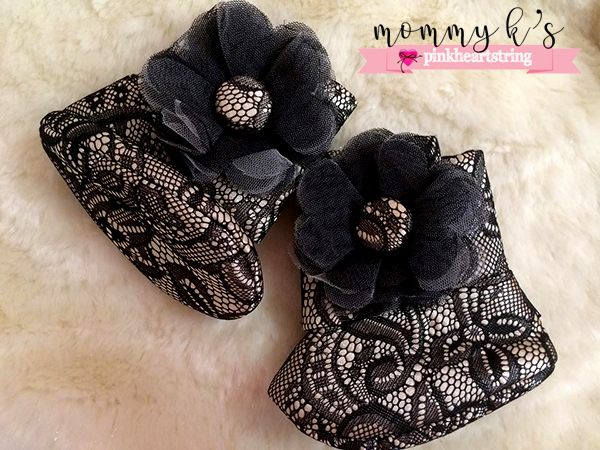 Zuri Baby Couture booties