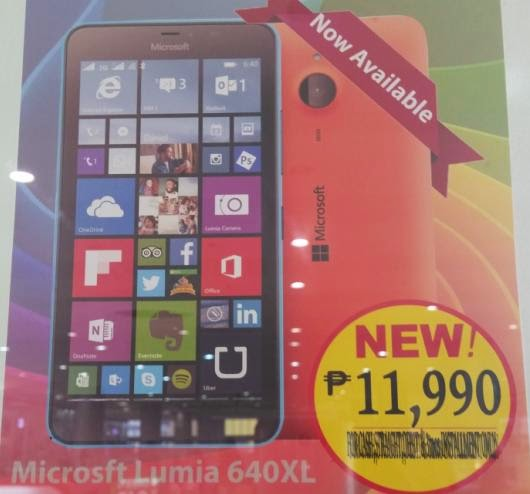 Microsoft Lumia 640XL Now Available for Php11,990