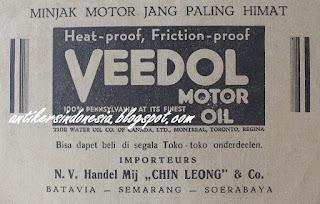 Veedol Motor Oil Importeurs N.V. Handel Mij Chin Leong   Co 3ea4cca2cb
