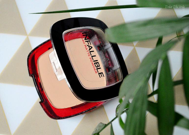 L'Oreal Paris Infallible 24H - Matte matujący puder 160 Sand Beige