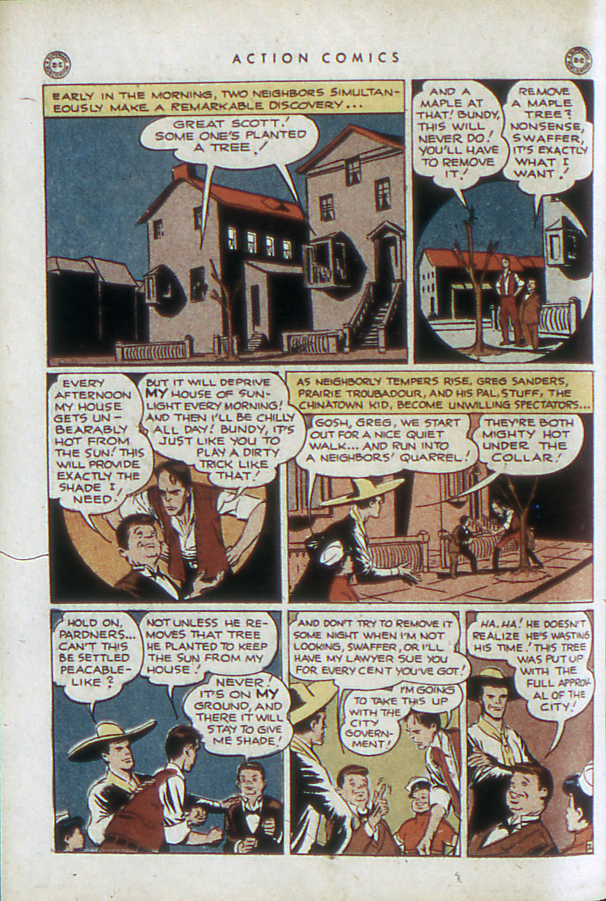 Read online Action Comics (1938) comic -  Issue #84 - 33