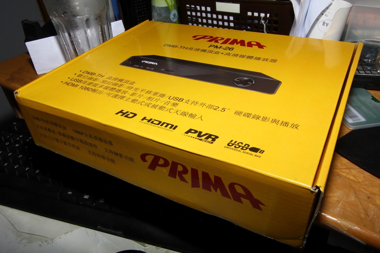續3年前文章 機頂盒耐用度 結果 測 PRIMA PM-26 TEST - 影音電器 - SeeWide