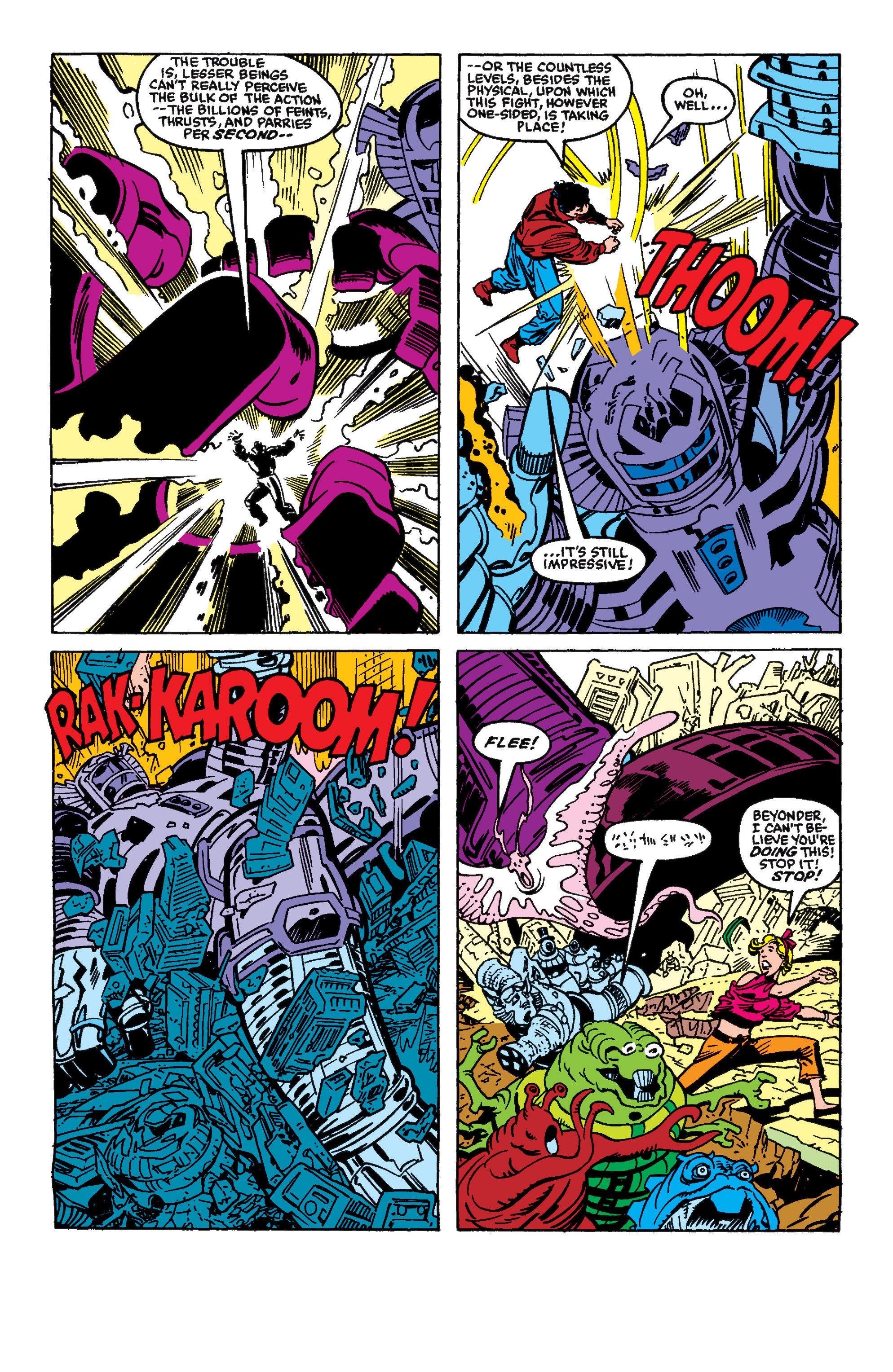 Read online Secret Wars II comic -  Issue #5 - 20