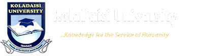 KolaDaisi University 2018/2019 JUPEB Admission Form Out