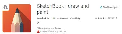 Aplikasi Menggambar Terbaik di Smartpone Gratis