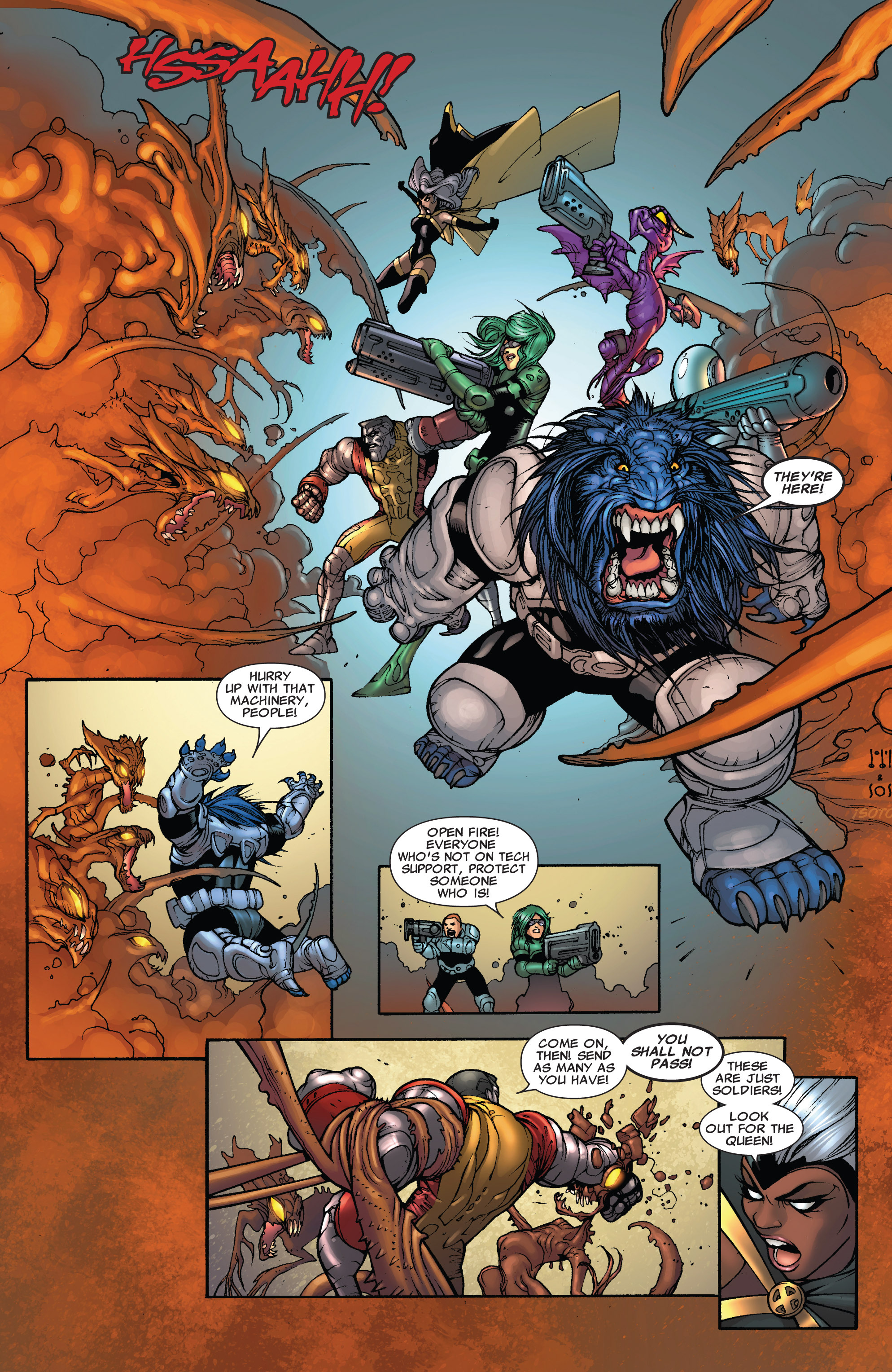 Read online Astonishing X-Men (2004) comic -  Issue #38 - 19